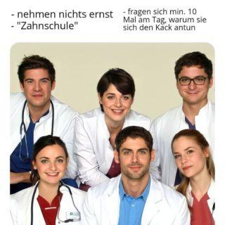 ✨Stereotypen Zahnmedizin✨ Die Repräsentation aller wurde angestrebt #diversity . . . . . #Zahnarzt#zahnmedizin#zahni#stereotypes#stereotypen#studium#humanmedizin#medizin#humani#medis#medimemes#memes#memezin#dentist#dentalstudent#dentistry#trichtern#uni#feiern#fun#lol#corona